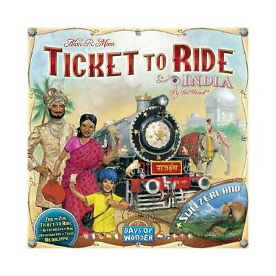 Ticket to Ride Map Collection: Volume 2 - India & Switzerland [Multilang]