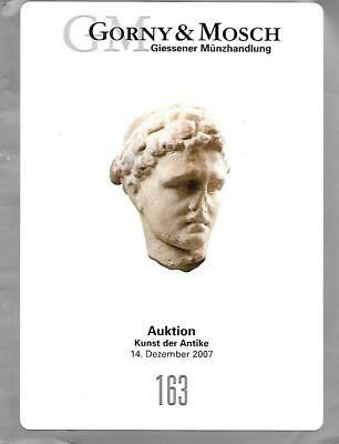 Gorny & Mosch 163 Antiquities Ancient Auction Catalog December 2007