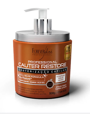 Smoothing Brazilian Keratin Cauter Restore Mask By Forever Liss