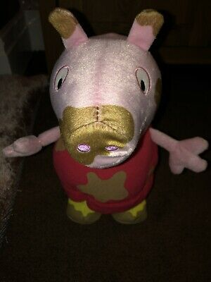 Peppa Pig Jumping In Muddy Puddles