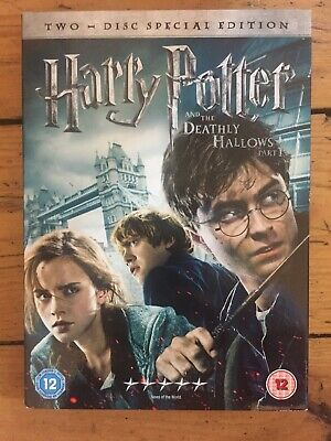 Harry Potter And The Deathly Hallows Part 1 (DVD, 2011, 2-Disc Set, Box Set)