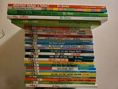 Lot Of 27 Dr Seuss Beginner, Bright & Early, Learning Library, Oversize Books