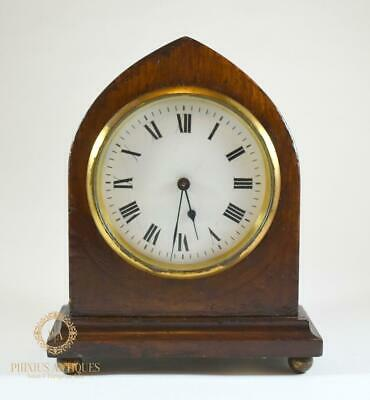 Antique Duvedry & Bloquel Mahogany Mantle Clock
