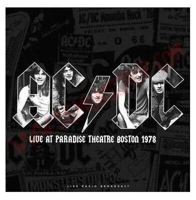 Ac/Dc Live At Paradise Theater Boston 1978 Rare Vinyl Lp Limited Edition Sealed