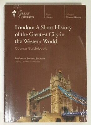 """NEW 4 DVDs & Book: """"London: A Short History...."""" Teaching Company Great Courses"""