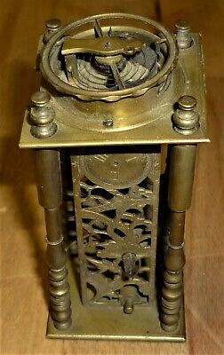 Unusual Vintage Fusee Clock Movement