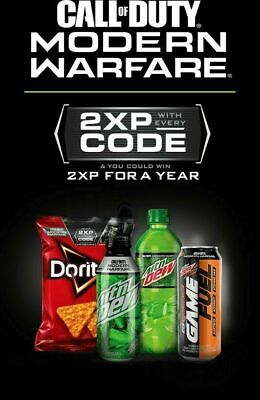 Call Of Duty Modern Warfare Double XP (2xp) 1 Hour Codes CHEAP! (FAST DELIVERY)