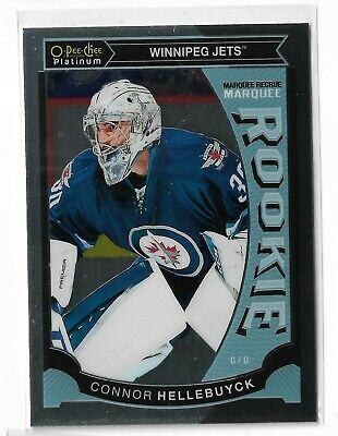 2015-16 O-Pee-Chee OPC Platinum Connor Hellebuyck Marquee Rookie M36