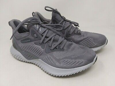 New! Men's adidas CG4765 Alphabounce Beyond Running Shoes Gray N5