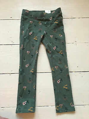 Girls Floral Jegging, leggings Trousers age 5-6yrs.