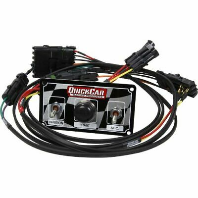 Quickcar Racing Products 50-2030 Modified Single Ignition Harness w Switch Panel