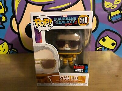 Funko PoP! Marvel Guardians Galaxy STAN LEE #5 w/soft protector
