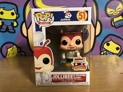 Funko POP Ad Icons JOLLIBEE in BARONG Independence Day Exclusive W/Pop Protector