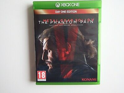 Metal Gear Solid V: The Phantom Pain on Xbox One in MINT Condition (Unused DLC)