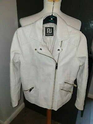 Superb New Girls Designer River Island Faux Leather Jacket Aged 11 Years Rrp £70