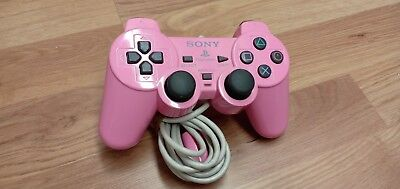 🌟OFFICIAL SONY PS1 PLAYSTATION Dual Shock Controller GREY SCPH-10010 PINK🌟