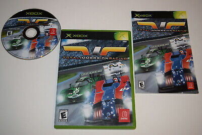 Total Immersion Racing Microsoft Xbox Video Game Complete