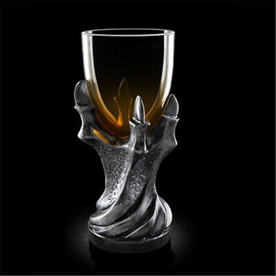 Game of Thrones Dragon Glass Cup Wine Holder Goblet Replica Gothic Party SR USA