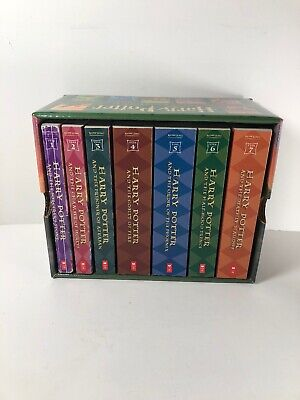 Harry Potter Paperback Book Set, Complete Series New in Packaging Scholastic 1-7