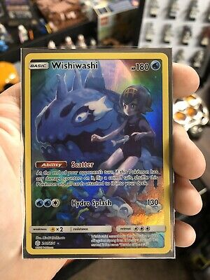 Pokemon Cosmic Eclipse Wishiwashi 240/236 Full Art Secret Rare NEW & MINT