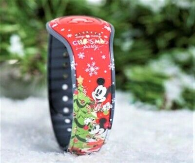 Disney Mickeys Very Merry Christmas Party 2019 Red Castle Magic band LE 3000!