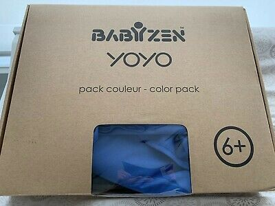 Babyzen Yoyo Color Pack 6+ Months Blue BRAND NEW NEVER USED