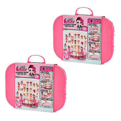 2x LOL Surprise Fashion Show On The Go Doll Carrying Case/Storage/Display Hot PK