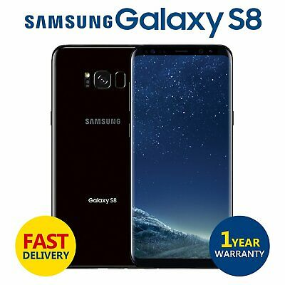 SAMSUNG GALAXY S8 64GB Unlocked 4G Android Mobile Phone Midnight Black