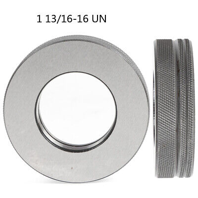 1 11//16-12 UN Thread Ring Gage 2A GO NOGO 100/% Calibrated ship by DHL   #Q013 ZX