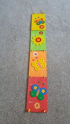 Children's room  height chart excellent condition