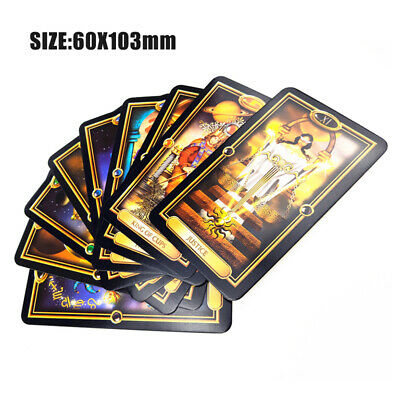 78pcs Tarot Deck Cards Guidance of Fate Playing Board Game Cards Set US