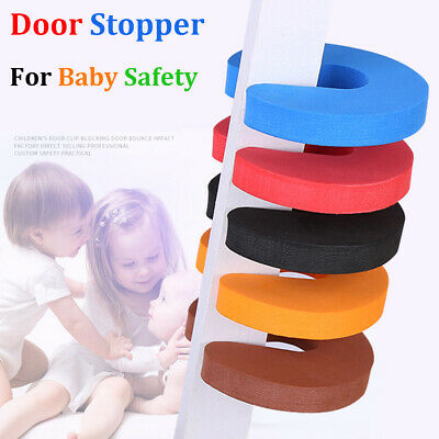 4Pcs Finger Protector Door Guards Anti Slam Stopper Baby Child Kids Safety Foam