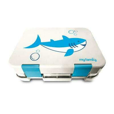 My Family Easy Clean Kids Bento Lunchbox (Shark) Free Shipping!
