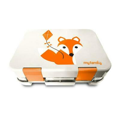 My Family Easy Clean Kids Bento Lunchbox (Foxy) Free Shipping!