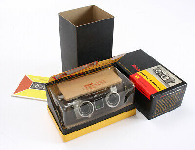 KODAK STEREO 35/3.5 ANASTON (DEBRIS, FUNGUS), BOX + TRANSPARENT COVER/cks/196424