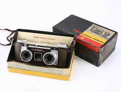 Kodak Stereo, 35/3.5 Anaston X 2 (Light Haze, Some Dust), Boxed/209381