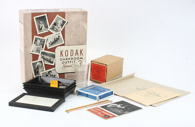 KODAK DARKROOM OUTFIT NUMBER 3, BOXED, FOR DISPLAY ONLY/cks/198579