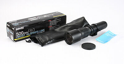 500Mm 500/8 Bower Preset Lens In T Mount (No Mount Included)/204556