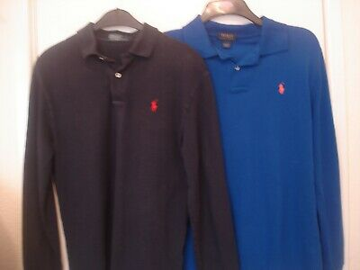 Two  Ralph Lauren Polo Shirts Size Small  Mens Vgc