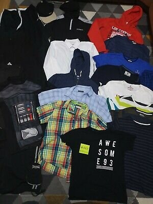 Huge Bundle Of Boys Clothes 12-13-14years #665 SONNETI LEE COOPER EVERTON NIKE