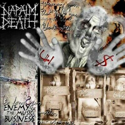 Napalm Death - Enemy of the Music Business / Leaders Not Followers EP CD NEW