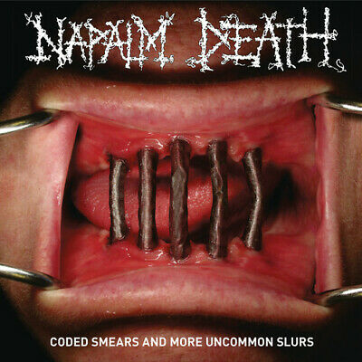 Napalm Death - Coded Smears And More Uncommon Slurs (2 Disc) CD NEW