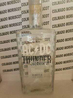 TEQUILA AC/DC BLANCO 70cl 40% THUNDER STRUCK 100% AGAVE 70cl 0,7L 700ml  MEXICO