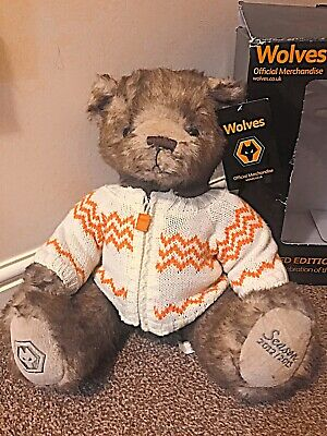 Wolves Limited Edition Stanley Bear Merchandise