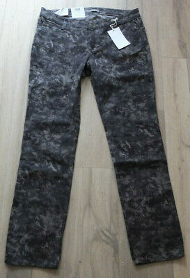 MAC Jeans Carrie Pipe 0309C 5909 Damen Pant Hose Stretch Camouflage Straight Fit
