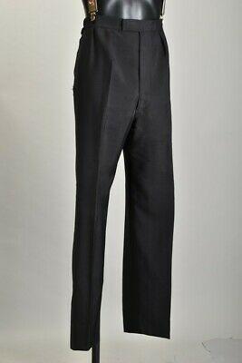 Undoubted Savile Row Tailored Mohair & Worsted Mix Evening Dress Trousers.  PWM