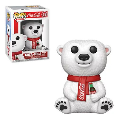 Funko Pop! Ad Icons: Coca-Cola Polar Bear Vinyl Figure