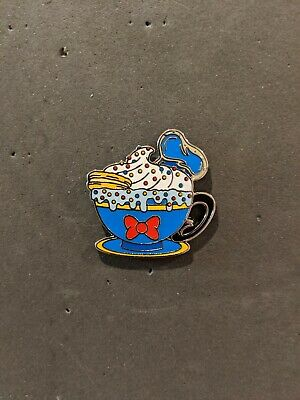 Disney Parks Happy Holiday Hot Cocoa Disney Pin Mystery box Donald Duck Mug