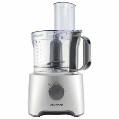 Kenwood FDP301SI NEW Multipro Food Processor 800W 1.2L 2 Speeds & Pulse - Silver