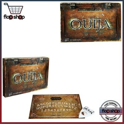 Vintage Ouija Board Game Set Mystifying Oracle Brothers Parker Witch Ghost Fuld
